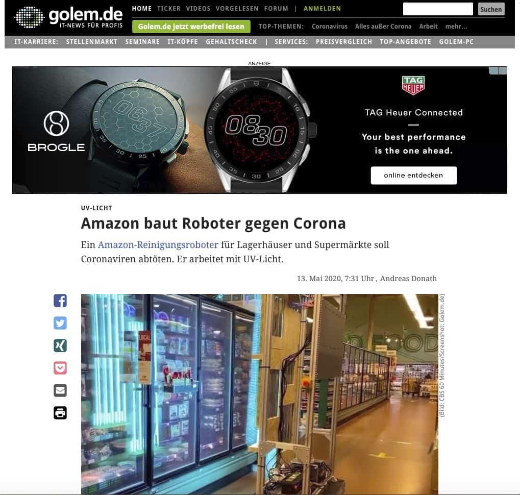 Amazon-Viren-Roboter