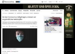 Heise Online Bericht