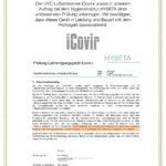 iCovir Urkunde A4 neu